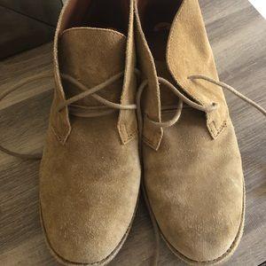 Lucky Brand light brown booties